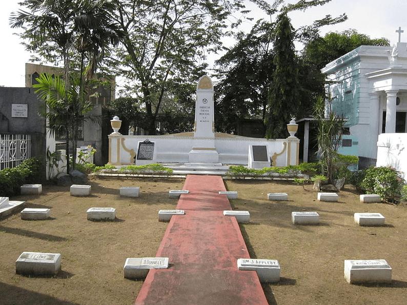 American Teachers Memorial, a special plot inside the Manila North Cemetery
